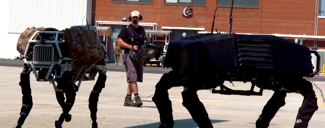 BigDog © Boston Dynamics