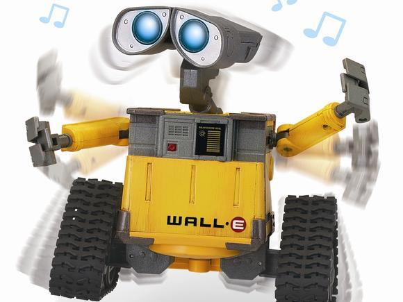 Šokantis WALL-E - vaikų džiaugsmas 1