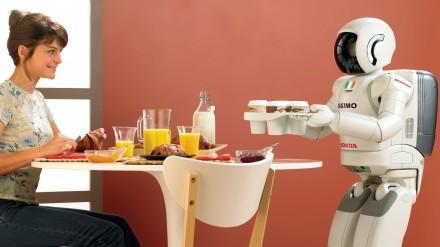 Kompanija Honda Robotics atnaujino androidą ASIMO