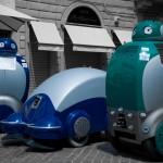 Mūsų gatvėse robotai-šiukšlių surinkėjai