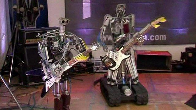 Robotai-metalistai iš Vokietijos