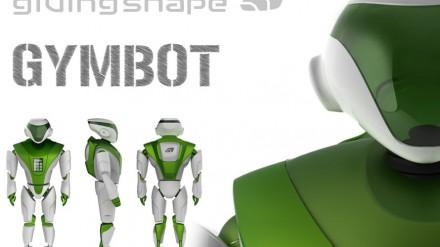 Robotas Gymbot - sporto treneris tinginiams