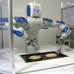 5 robotai, kurie moka gaminti - Motoman SDA10 robot