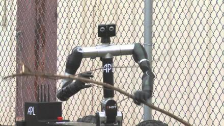 Pažangiausias robotas išminuotojas Robo Sally