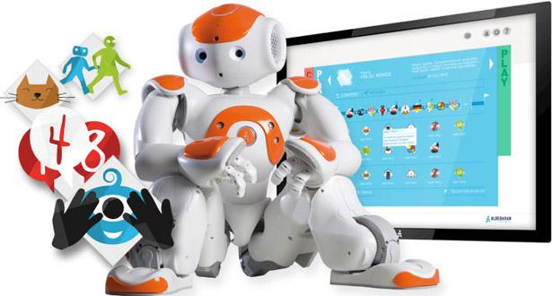 Robotai padeda autizmu sergantiems vaikams.1