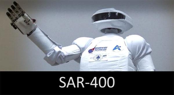 Rusijoje pagamintas robotas kosmonautas