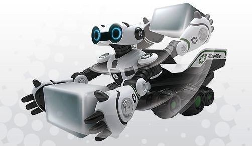 8 roboto Wall-E kopijos 3