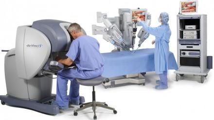 Ar sutiktumėte, kad jus operuotų robotas 1