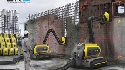 Ateityje pastatus griaus aplinką tausojantys robotai