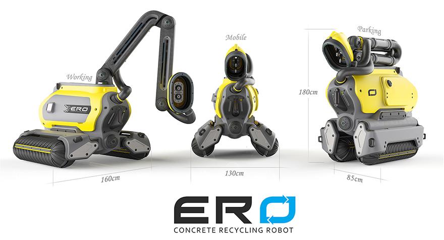 Ateityje pastatus griaus aplinką tausojantys robotai  1