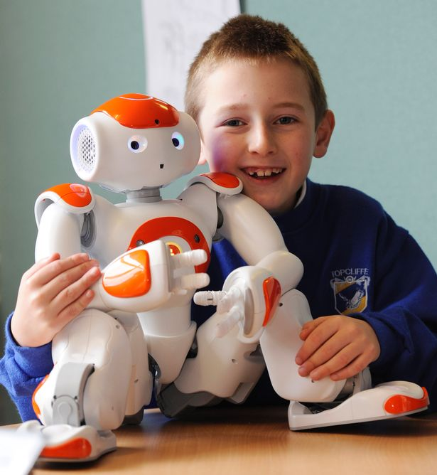 Ko vaikai norėtų iš robotų 1