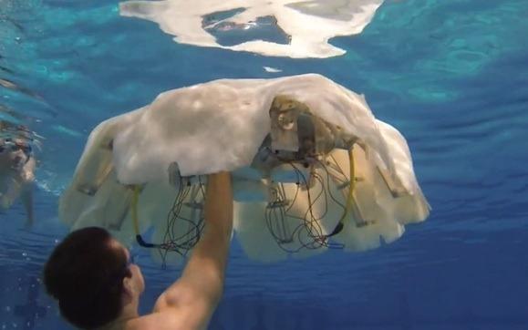 Milžiniškos robotinės medūzos