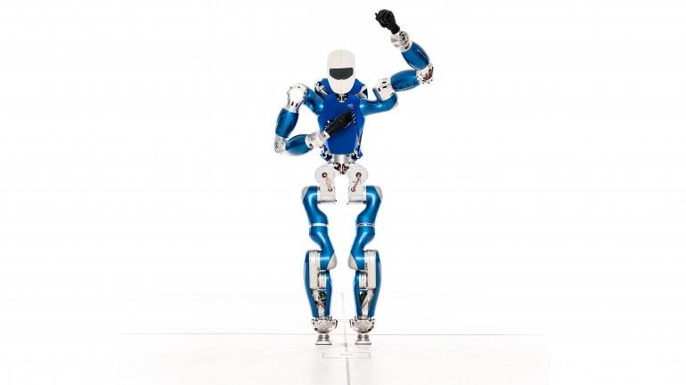Naujasis Vokietijos inžinierių kūrinys - robotas humanoidas TORO 1jpg