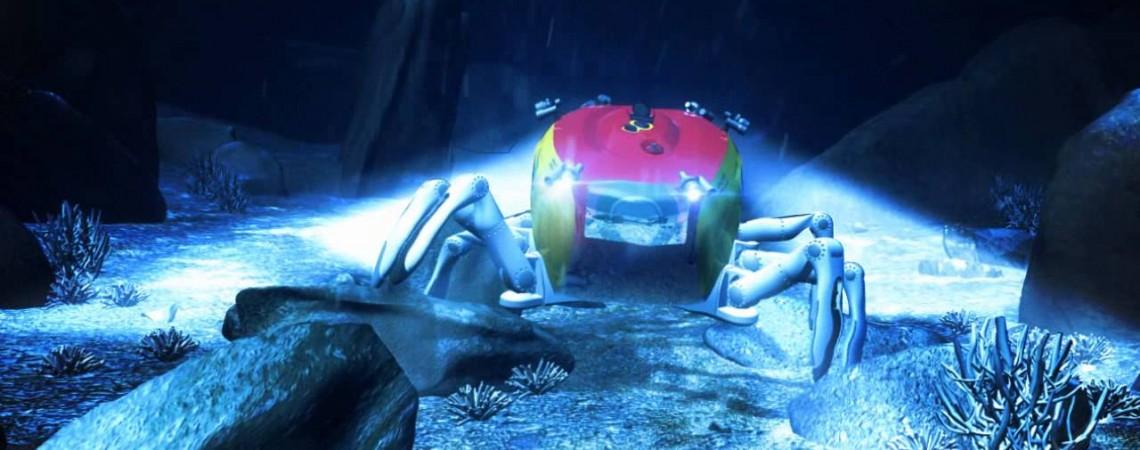 Nuskendusių laivų nuolaužas tirs povandeninis robotas krabas