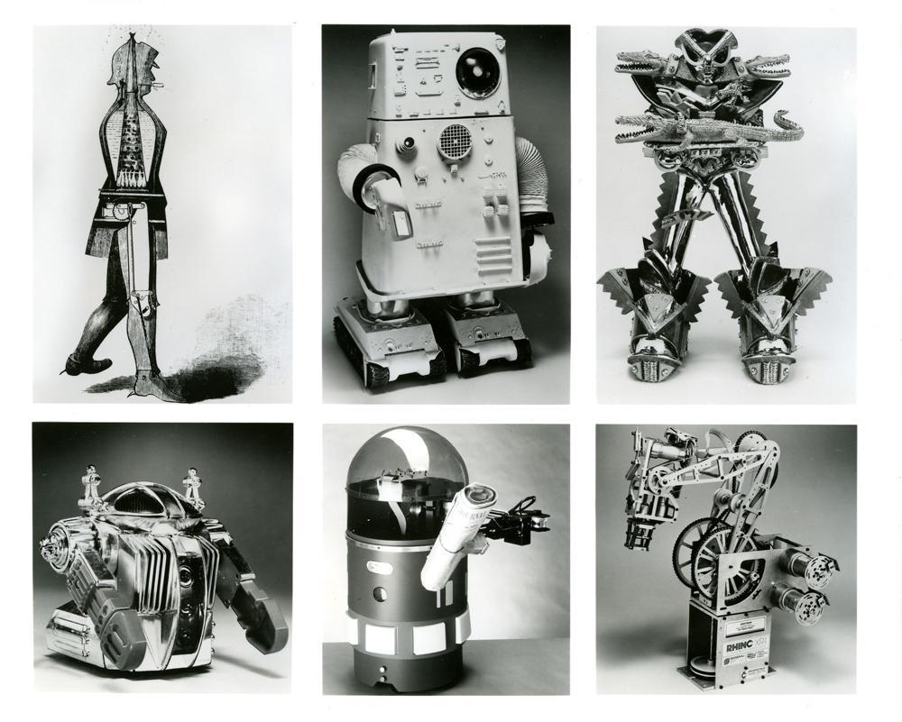 Robotų atsiradimo istorija 1
