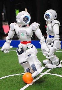 Robotai futbolininkai