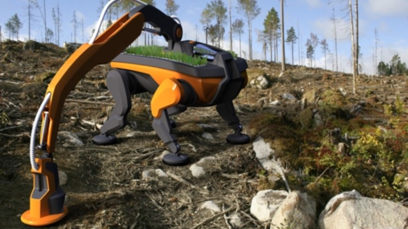 Robotai rūpinsis ekologija