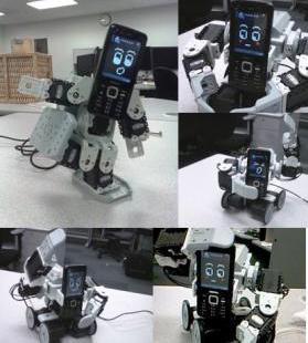 Robotas-telefonas, kuris sugeba pamėgdžioti žmogaus emocijas ir gestus
