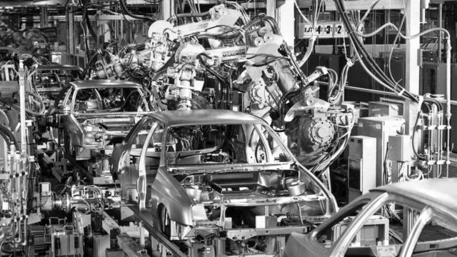 Automatizuotos automobilių gamyklos