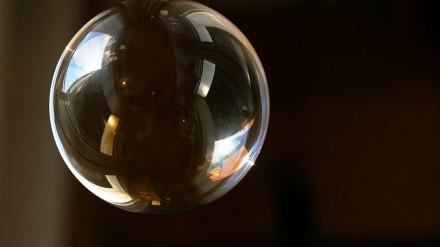 Burbulus pučiantis robotas oro gaiviklis