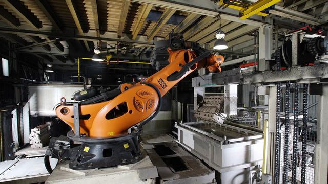 Pažangios robotines rankos