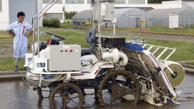 Ryžius sėja automatizuoti prietaisai