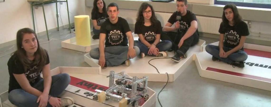 Robotų iššūkis - Iškrauti erdvėlaivį