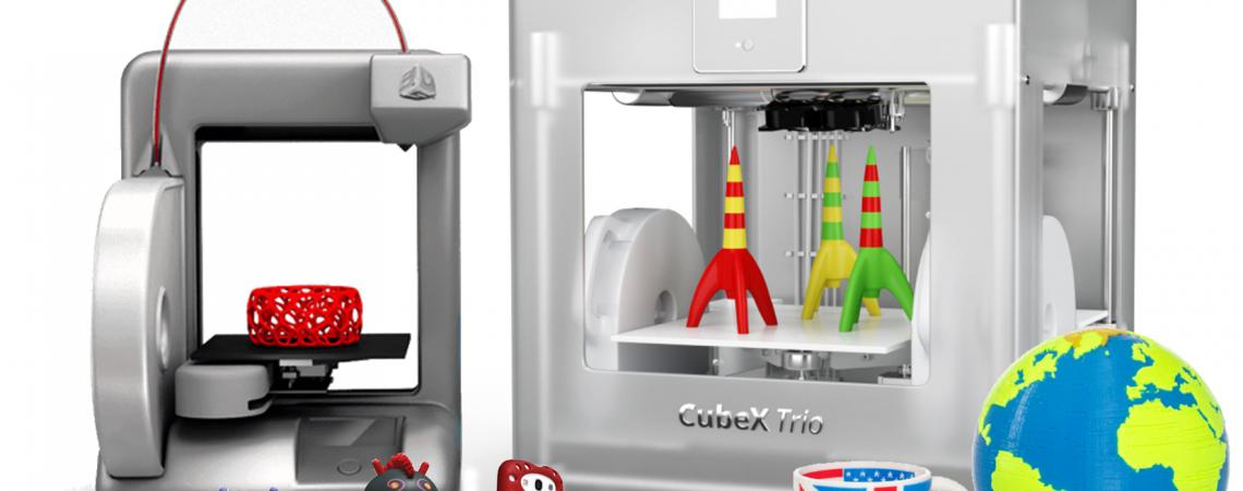 3D-printeriai