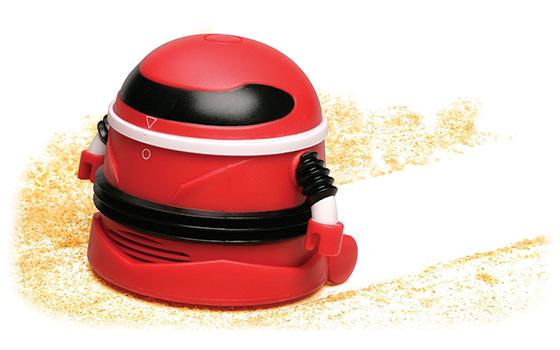 Mini robotas-siurblys