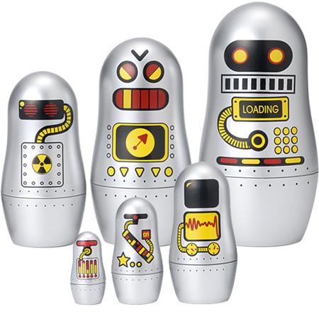 Robotai-matrioškos