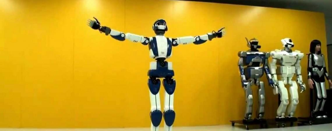 Vaikščiojantys robotai
