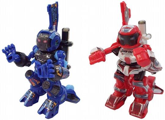 BattroBorg - koviniai robotai-žaislai