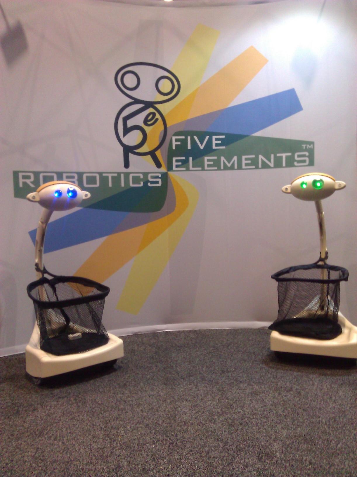 Robotas kurjeris Budgee