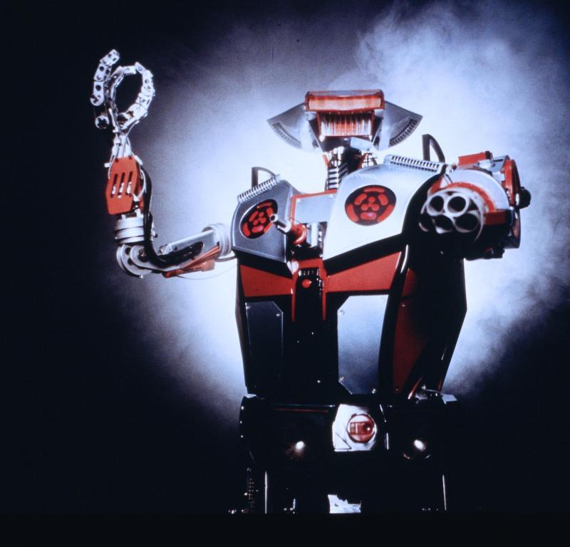 Simpatiškiausi 1990-2000-jų Robotai