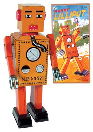 Pirmųjų robotų kūrimo istorija 1