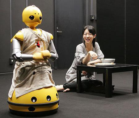 Robotas Wakamaru – aktorius iš Japonijos 1