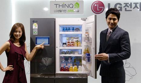 Robotizuotas šaldytuvas THINQ