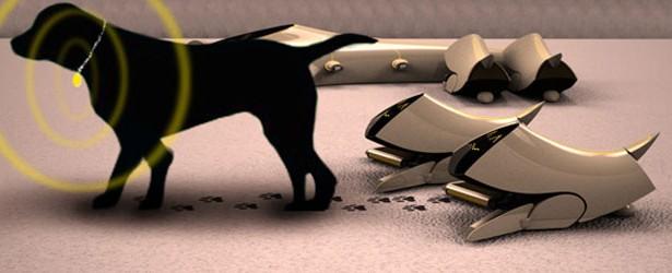 Robotai-šunys Puppy Robotic nepaliks nei dulkelės! 2