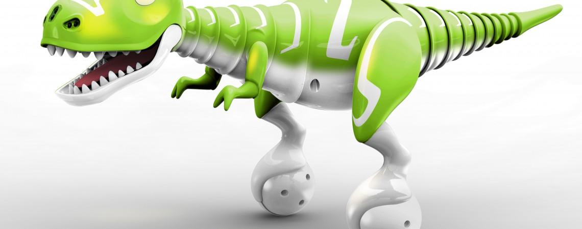 Žavus robotinis T. Rex dinozauras bus jūsų geriausiu draugu