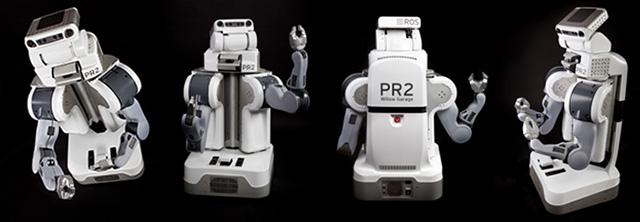 Kompanija Willow Garage robotai