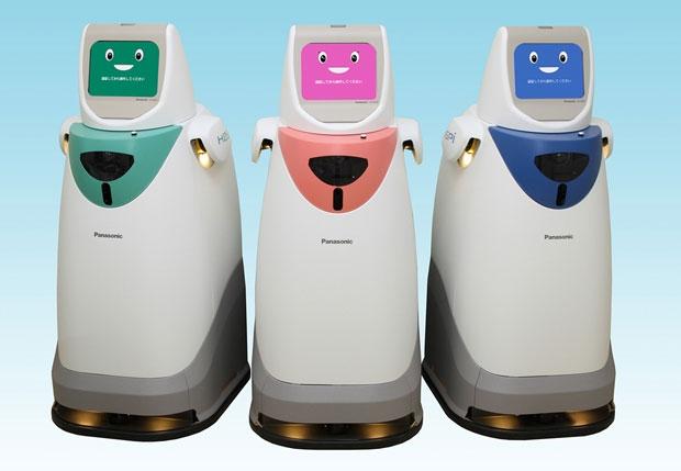 Panasonic patobulino robotą–kurjerį, dirbantį ligoninėse 3