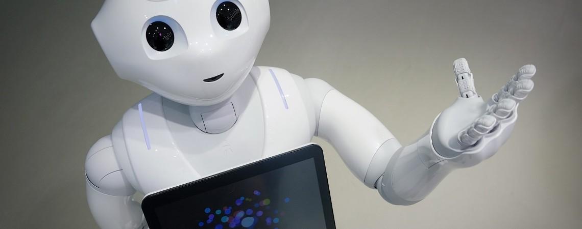 Pepper - robotas, kuriam jūs rūpite