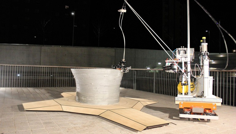 3D konstrukcijų spausdinimo komanda – Minibuilder 1
