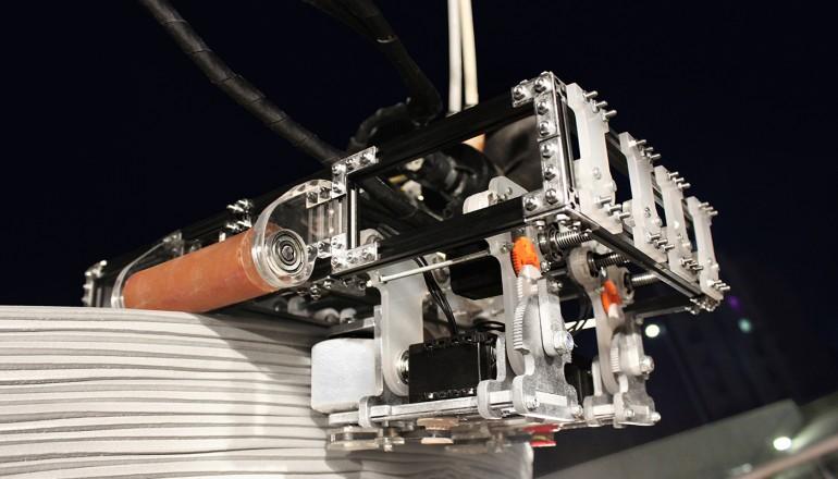 3D konstrukcijų spausdinimo komanda – Minibuilder