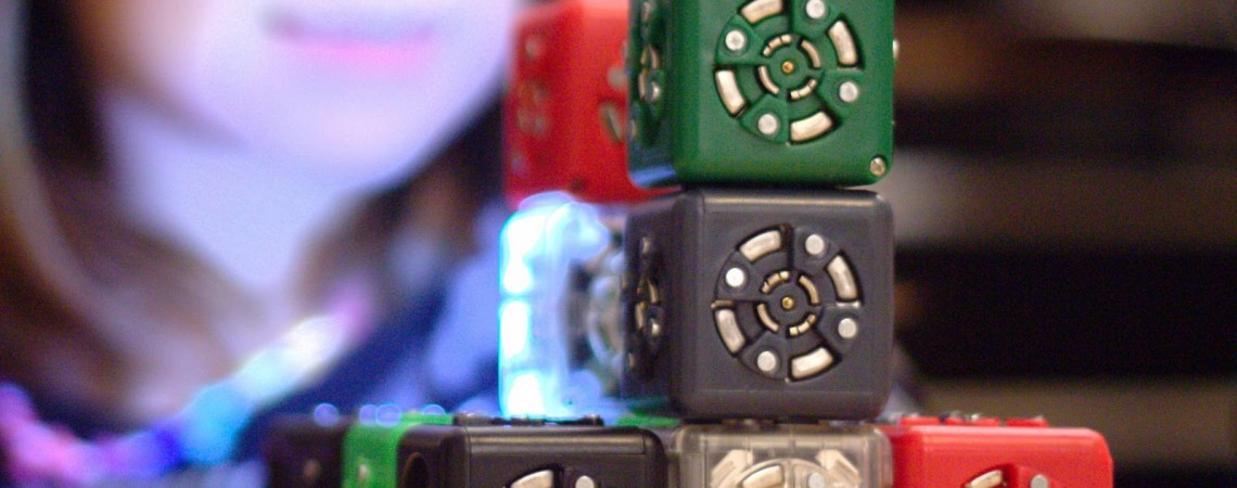 Cubelets - robotizuoti kubai
