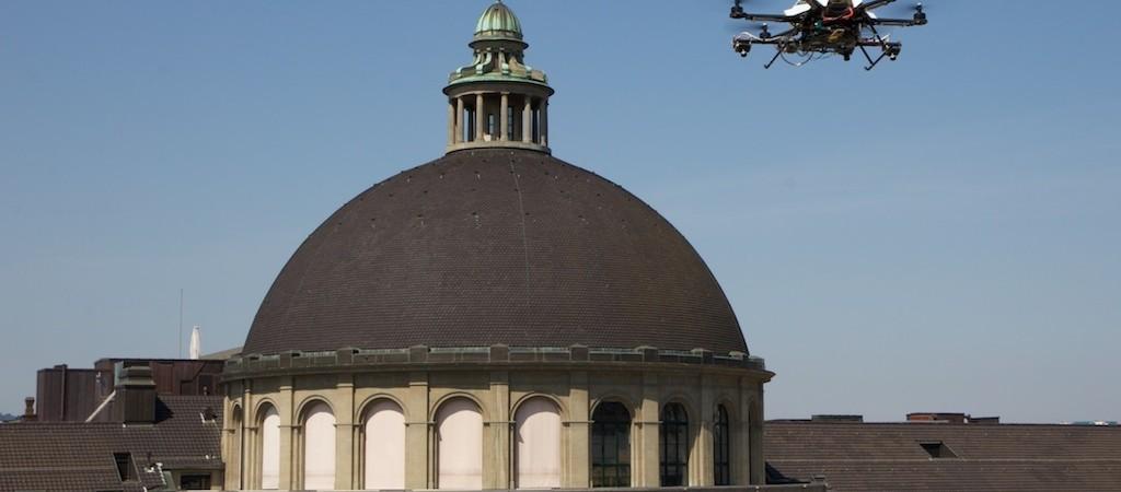 Didelės rizikos užduočių vykdymui – naujos kartos oro robotai
