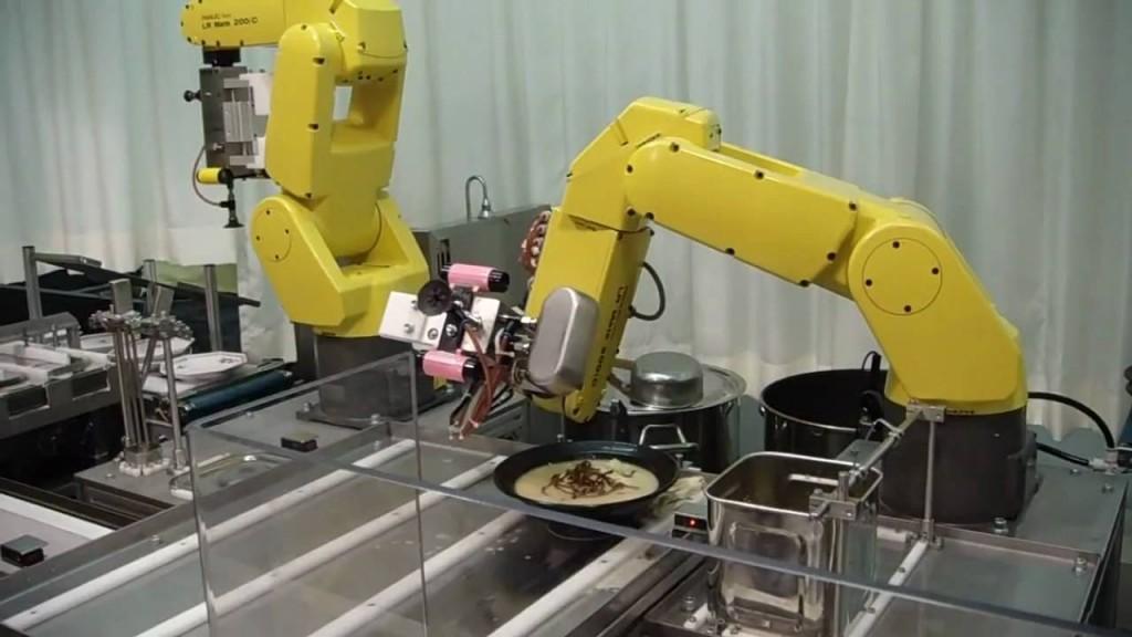 Kaip atidaryti robotizuotą restoraną 3