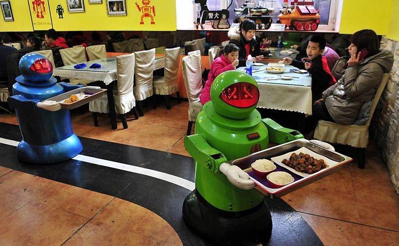 Kaip atidaryti robotizuotą restoraną