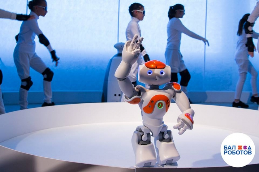 Maskvoje įvyko paroda-šou Robotų puota 4