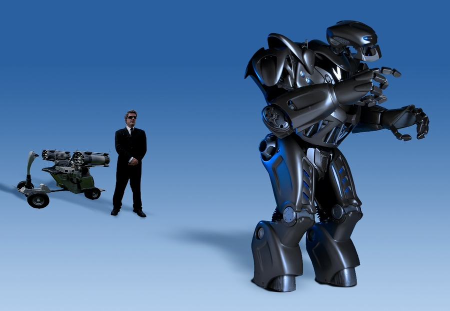Maskvoje įvyko paroda-šou Robotų puota 5